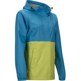 Marmot PreCip - Veste Femme - jaune/bleu